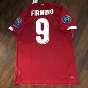 Liverpool Fc FIRMINO Home Jersey